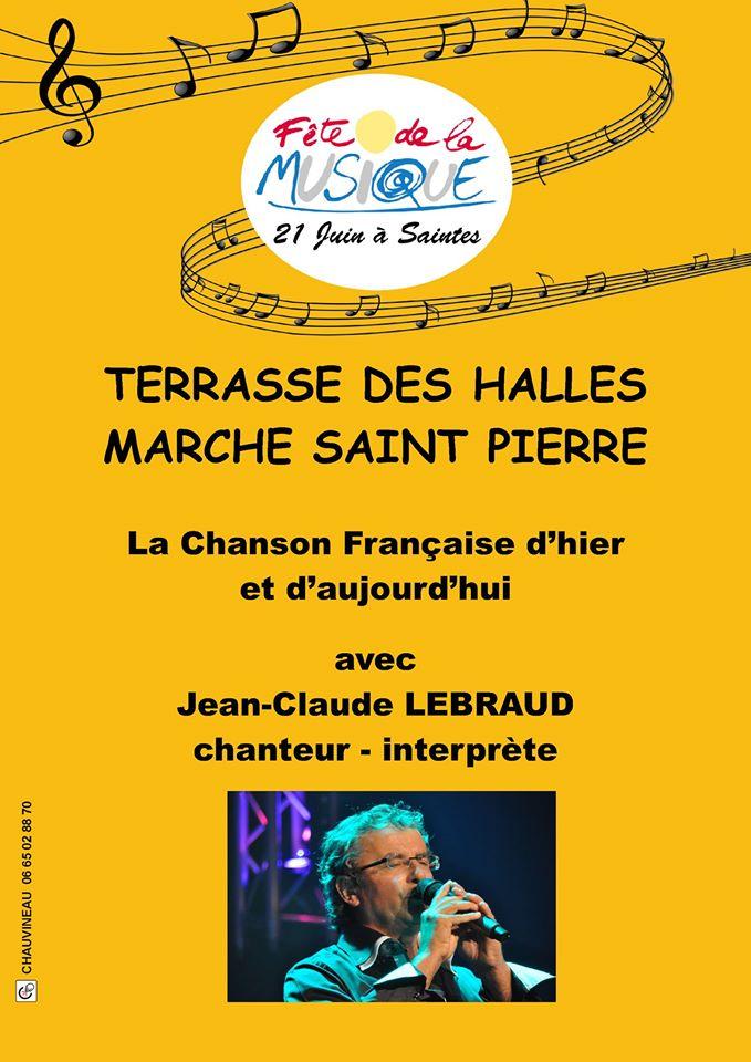Affiche Concert Fête de la Musique 2016 J-C Lebraud