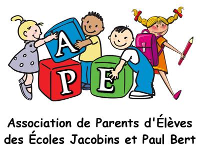 Logo APE Écoles Jacobins et Paul Bert