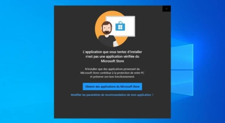 Windows 10 : comment bloquer l'installation d'applications non vérifiées ?